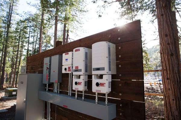 Solar Energy Battery Grid